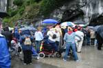 Visiting Lourdes Grotto
